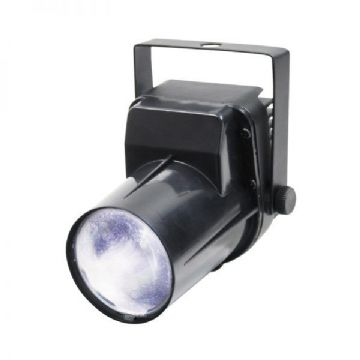 EQUINOX 3W LED Pinspot (Black Housing) EQLED040